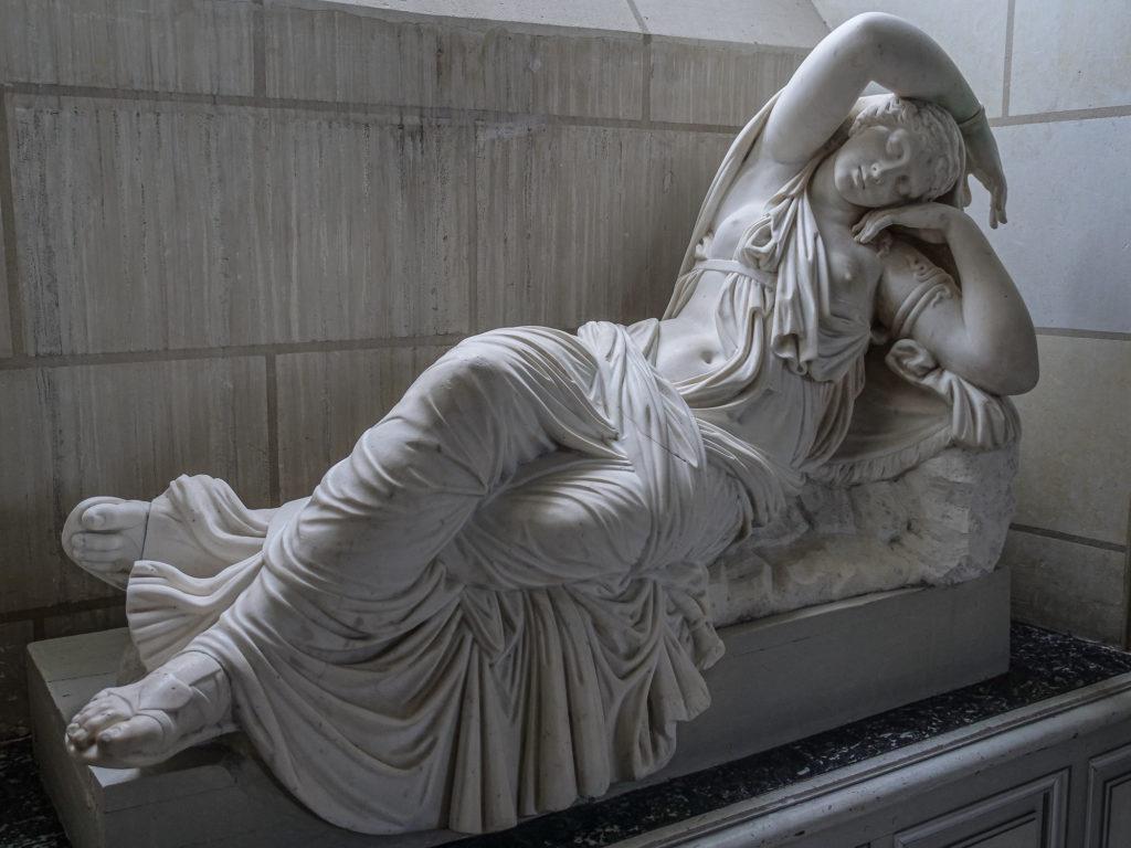 Sculpture, Château Valençay,-CC BY-NC Jacques BOUBY