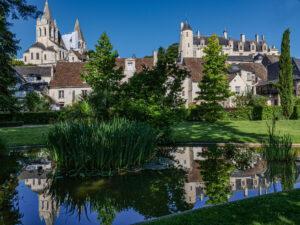 Loches, Collégiale Saint-Ours et Château-CC BY-NC Jacques BOUBY