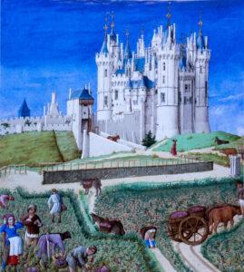 Les Très riches heures du Duc de Berry, Vendanges-CC BY-NC Jacques BOUBY