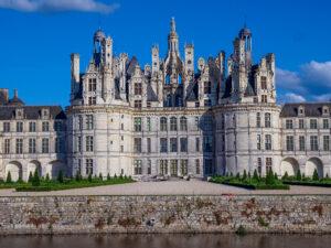 Château de Chambord, façade nord-ouest, le donjon -CC BY-NC Jacques BOUBY