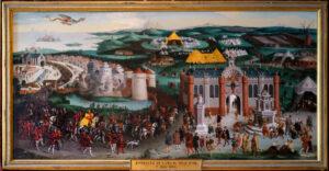 Château de Chambord, Friedrich Bouterwek, L'Entrevue de FrançoisIer et d'Henry VIII au Camp du Drap d'or -CC BY-NC Jacques BOUBY