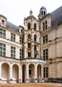Château de Chambord, escalier de la tour de la Chapelle-CC BY-NC Jacques BOUBY