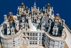 Château de Chambord, maquette des terrasses -CC BY-NC Jacques BOUBY