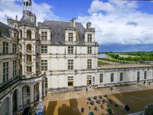 Château de Chambord, escalier de la tour Nord-CC BY-NC Jacques BOUBY