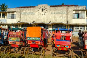 Train Fianar-Côte Est, gare de Manakara- CC BY-NC Jacques BOUBY