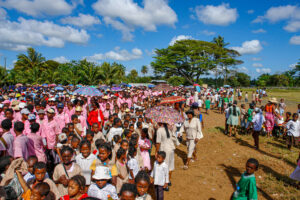Manakara, Rassemblement scolaire- CC BY-NC Jacques BOUBY